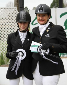 Cayla van der Walt and Heather Cochrane pictured at SA Champs in August. Image: Candiese Marnewick