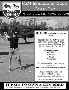 KZN Breeders Golf Day 2016