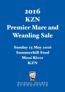 KZN Premier Mare And Weanling Sale