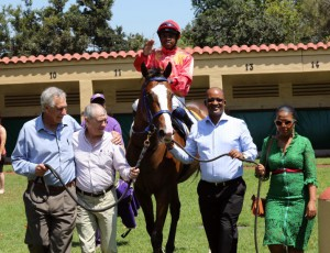 Ishnana - First Run, First Win For Horse And Owner Thabo Mhlongo