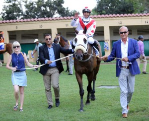 Kildonan Lad wins on Wednesday at Scottsville.