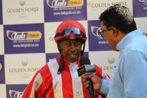 Leading jockesy of the first series, Billy Jacobson and Athandiwe Mgudlwa.