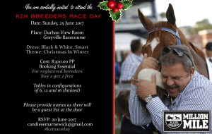 Invitation: KZN Breeders Race Day