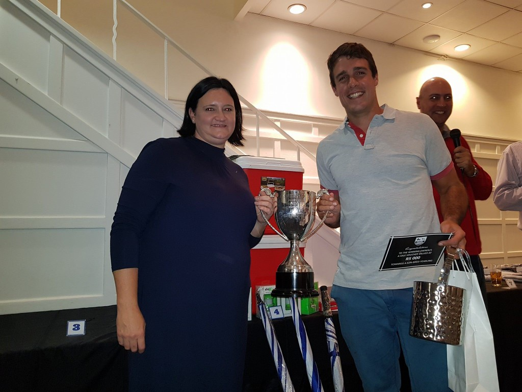 Devon McHardy, the overall winner of the KZN Breeders Golf Day. Image: Tessa Rich