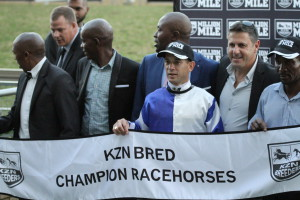 The 2017 KZN Breeders Race Day saw Sean Tarry sweep the day with 6 winners. Image: Candiese Marnewick