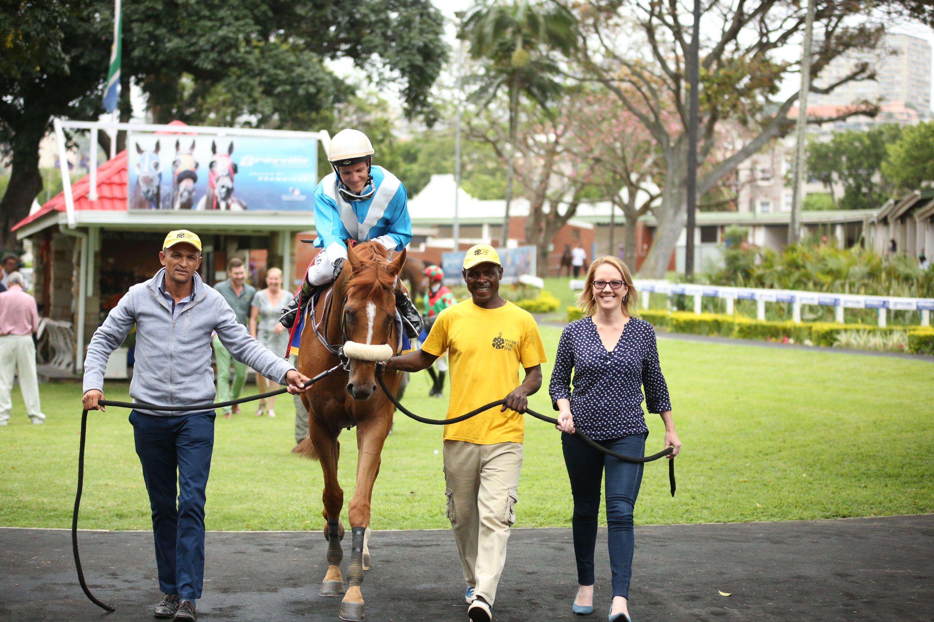 Putchini wins for the seventh time. Image: Candiese Marnewick