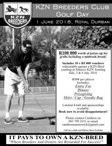KZN Breeders Golf Day 2018