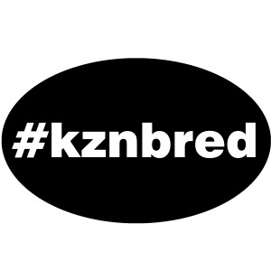 The hip stickers that will be used at the KZN Yearling Sale to identify #kznbreds, on stable doors and hip stickers during the auction.