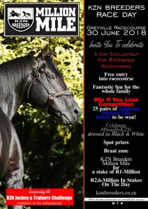 KZN Breeders Race Day - 30 June Greyville Racecourse