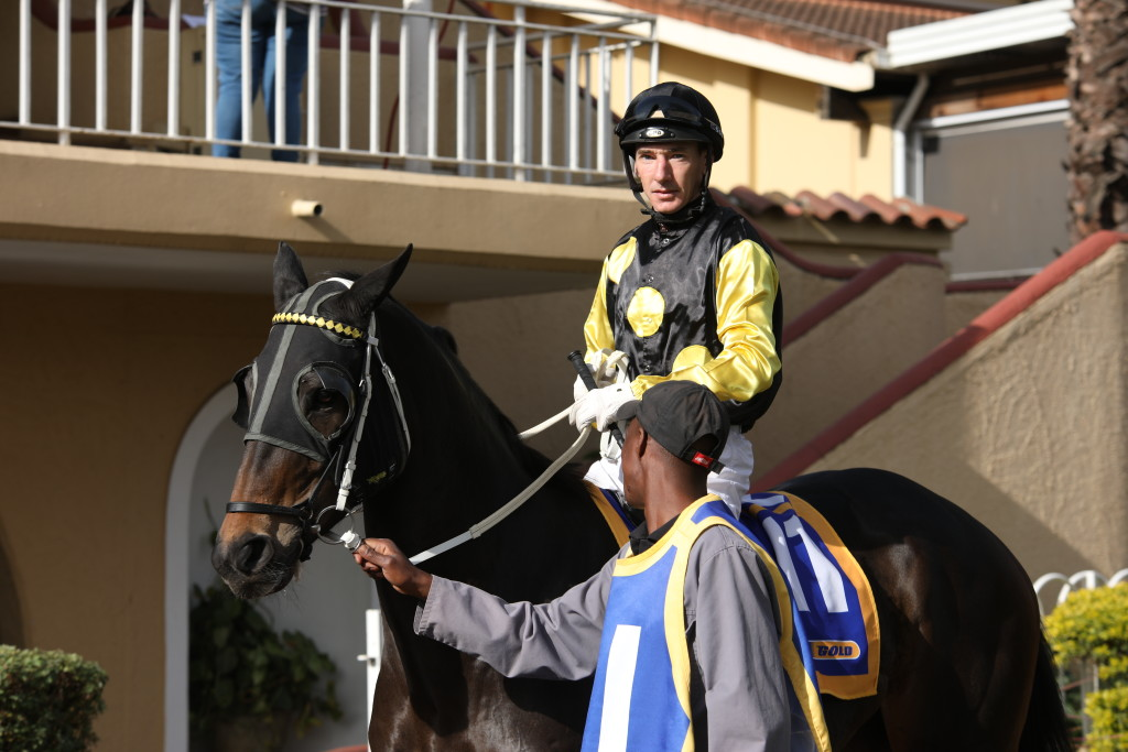 Warren Kennedy rode three winners at Greyville on Friday night and is fast catching up to Lyle Hewitson. Image: Candiese Marnewick