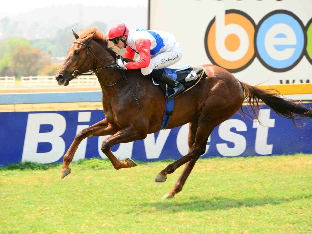 Chijmes winning at Turffontein 22nd September. Image: JC Photos