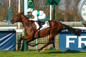 French Stakes Victory For Just As Well
