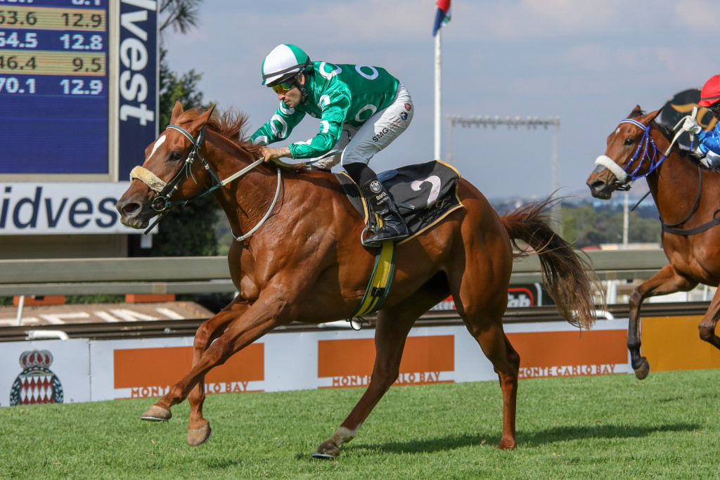 Ronnie's Candy annhilated a quality field in the Gr3 Starling Stakes. Image: Candiese Marnewick