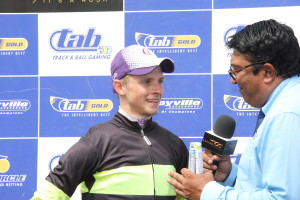 Lyle Hewitson after his win on Matador Man. Image: Candiese Marnewick