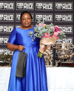 Nothemba Mlonzi received special recognition for her achievement. Image: Candiese Marnewick