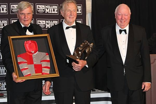 George Rowles of Ivanhoe Stud was honoured at the 2014 KZN Breeders Awards with a Lifetime Achievement Award.