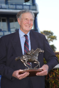 George Rowles after winning the inaugural KZN Breeders Million Mile in 2012. Image: John Lewis
