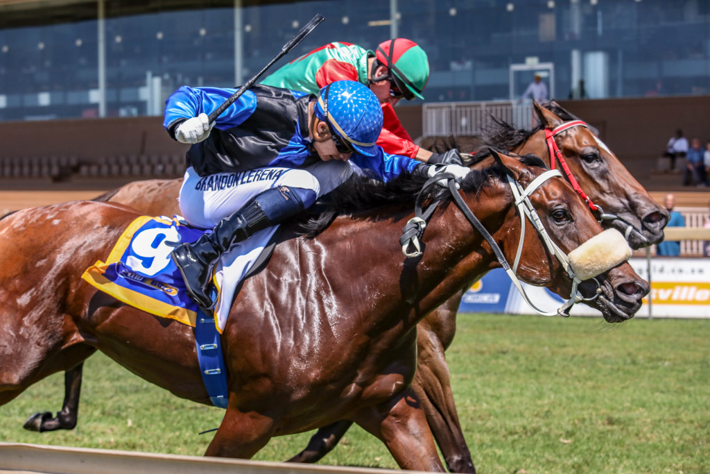 Sand Queen gave jockey Brandon Lerena a double. Image: Candiese Marnewick