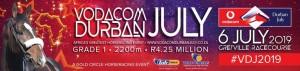 Five #kznbreds Amongst Vodacom Durban July First Entries