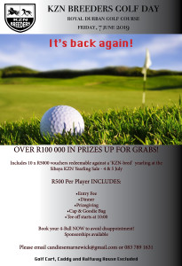 KZN Breeders Golf Day 2019