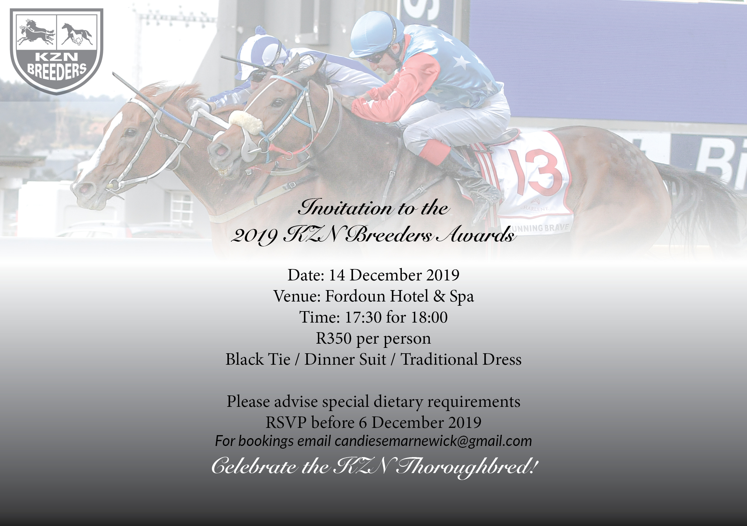 Invitation: KZN Breeders Awards 2019