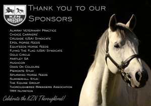 KZN Breeders Awards: Thank You To Sponsors