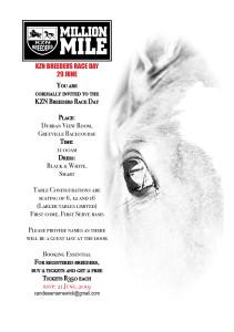 Invitation: KZN Breeders Race Day 2019